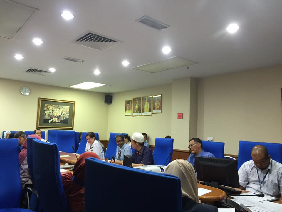 Project Working Committee meeting @ Selayang Hospital.